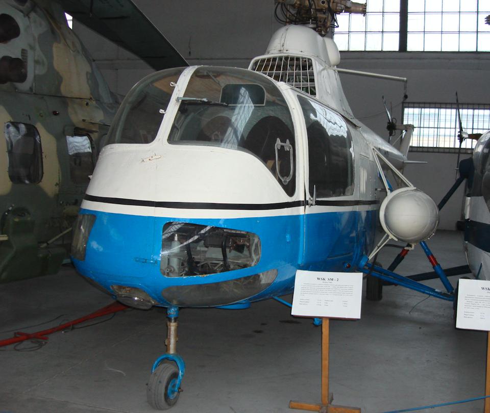 PZL WSK Świdnik SM-2 SP-SAP. 2008 rok. Zdjęcie Karol Placha Hetman