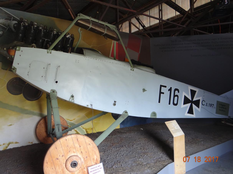 Albatros C.I w Muzeum Lotnictwa Polskiego - Czyżyny 2017 rok. Zdjęcie Karol Placha Hetman