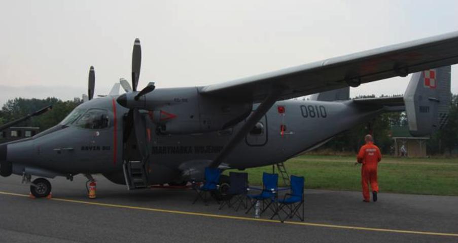 PZL M-28 Bryza bis nb 0810. Radom 2009 rok. Zdjęcie Karol Placha Hetman
