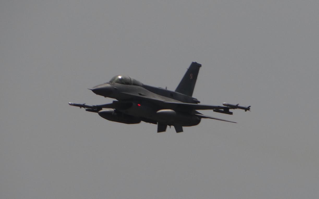 Lockheed Martin F-16. 2019. Photo by Karol Placha Hetman