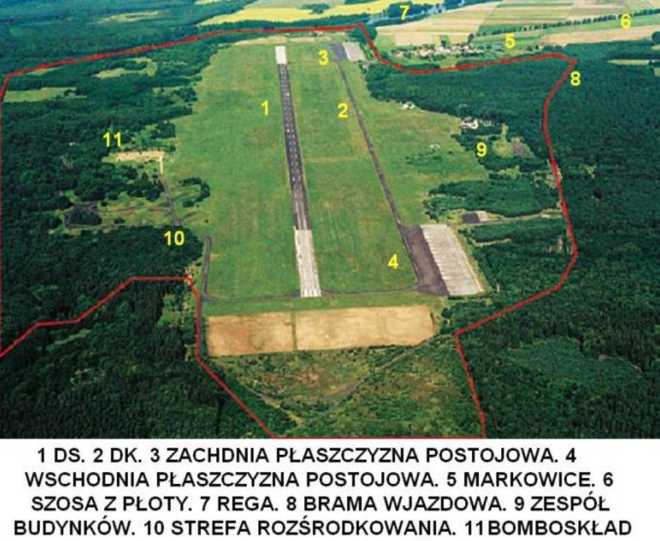Lotnisko Płoty. 2009 rok. Zdjęcie LAC