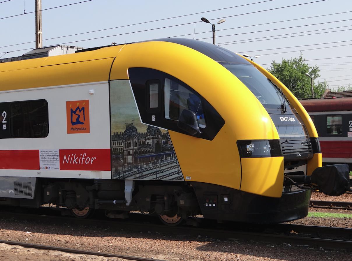 "EN77-004 32WE Acatus II ""Nikifor"". 2012 rok. Zdjęcie Karol Placha Hetman"