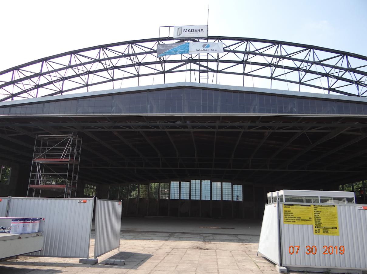 Hangar. 2019 year. Photo by Karol Placha Hetman