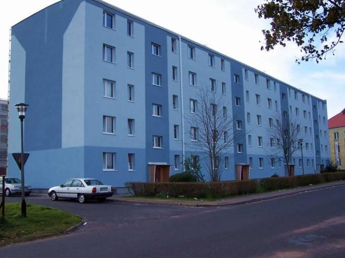 Jeden z bloków zbudowany z końcem 60-tych lat. 2009r.