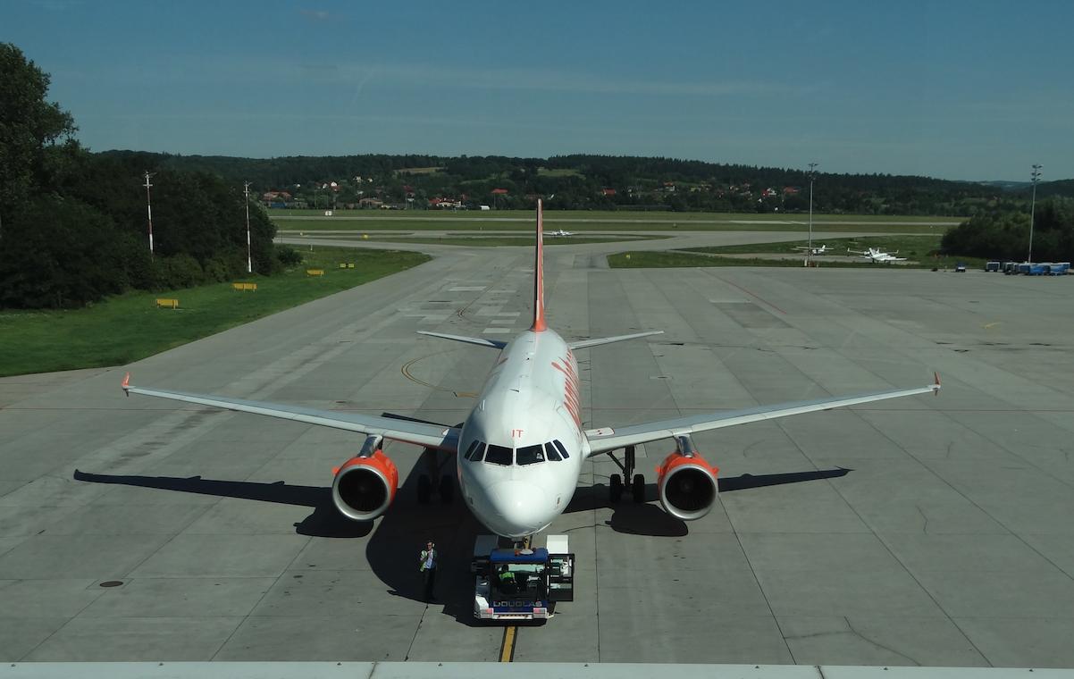 Airbus A 320 G-EZIT. 2012 rok. Zdjęcie Karol Placha Hetman