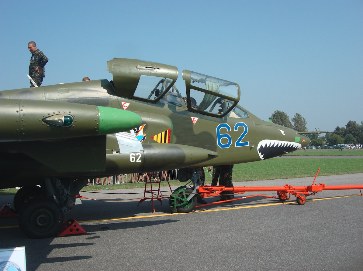 Sukhoi Su-25 UB nb 61. Ukraine. 2011 year. Photo by Karol Placha Hetman