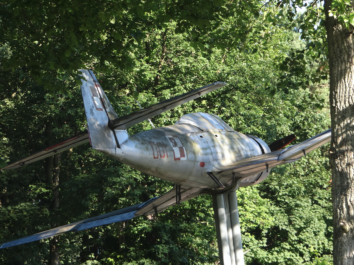 TS-8 Bies nb 001. Babie Doły 2014 rok. Zdjęcie Karol Placha Hetman
