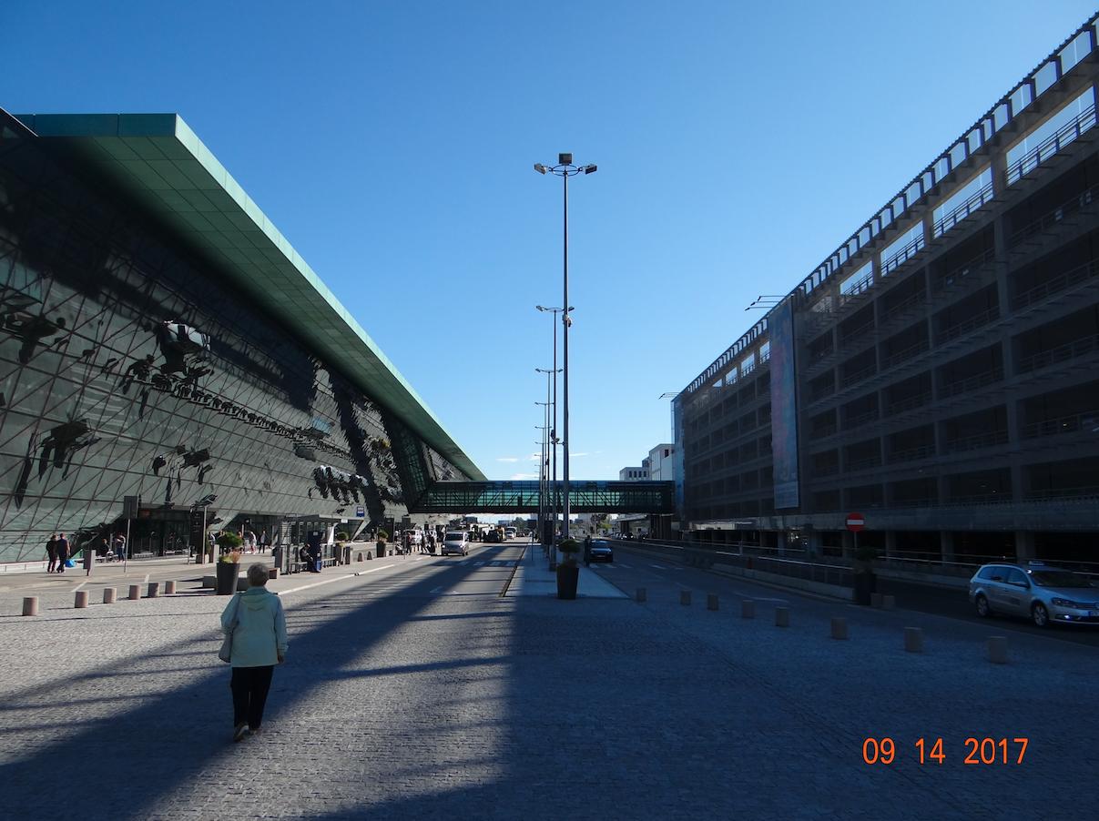 Kraków Airport. 2017 year. Photo by Karol Placha Hetman