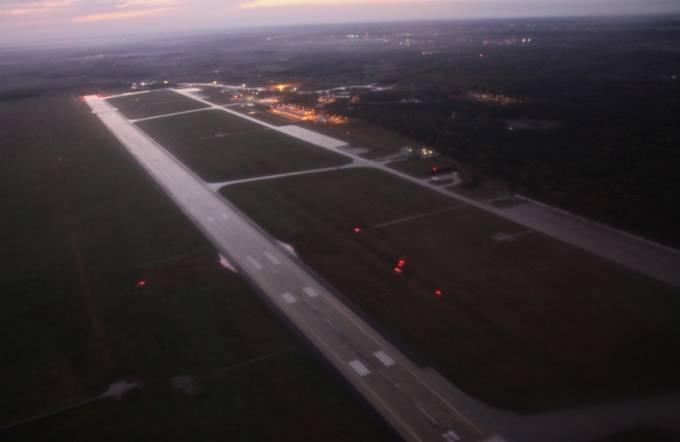 Lotnisko Łask. 2010r.