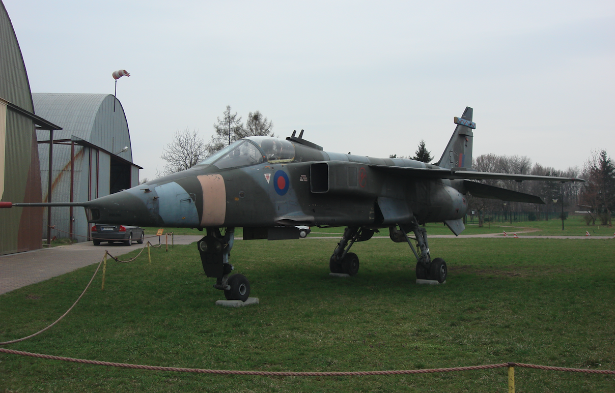 Jaguar GR.Mk.1 nb XX730. Rok 2011. Zdjęcie Karol Placha Hetman