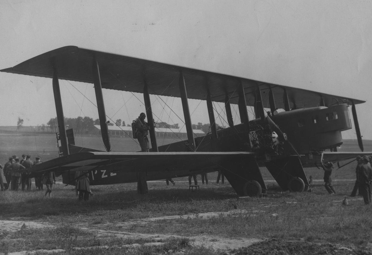 Polish Farman F.68 Goliath. Photo of LAC