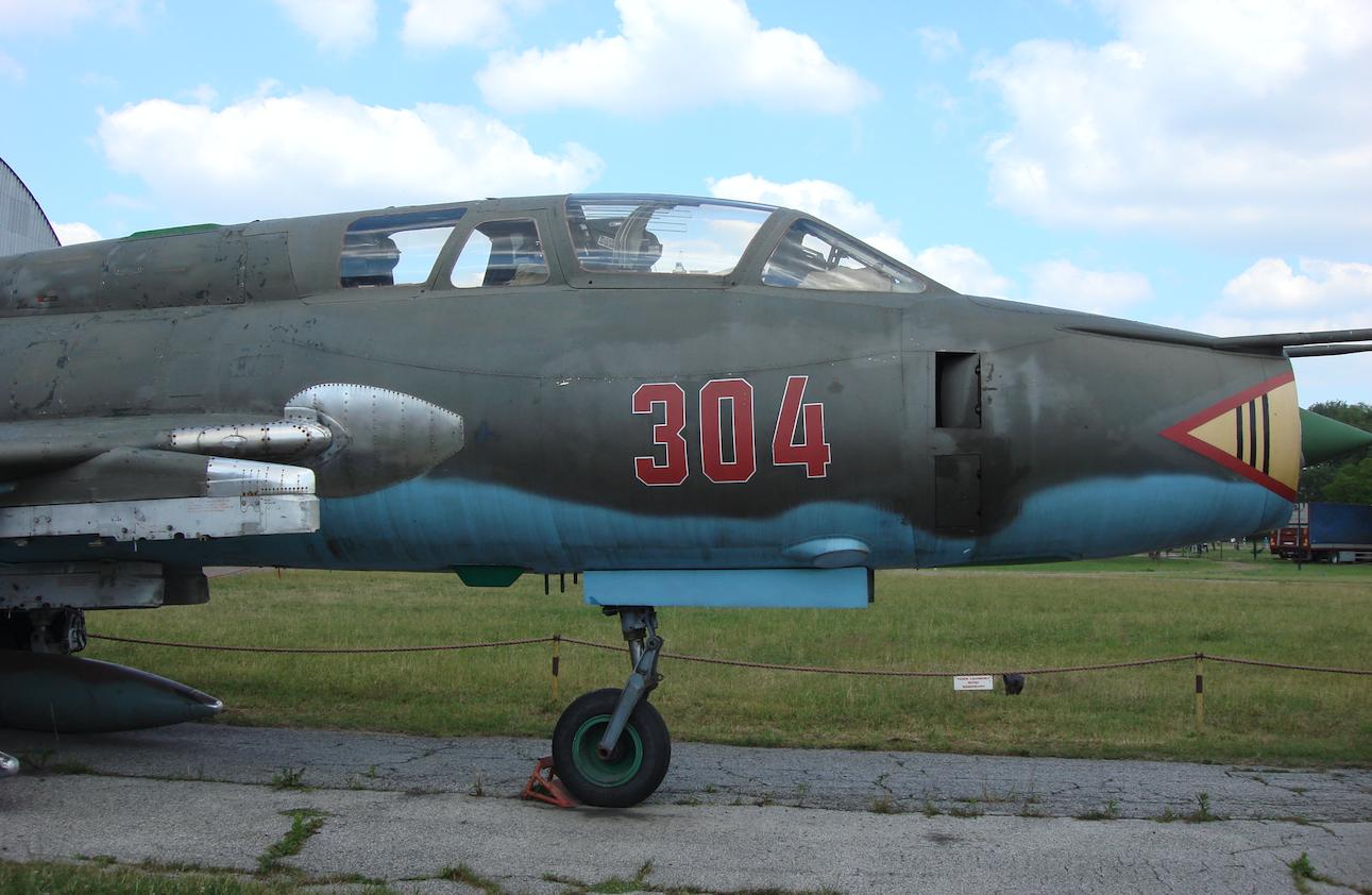 Su-22 UM 3 K nb 304. 2008 rok. Zdjęcie Karol Placha Hetman