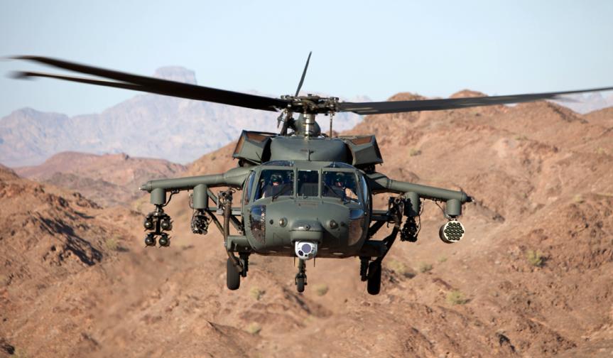 Armed Black Hawk. 2019. Photo by Lockheed Martin