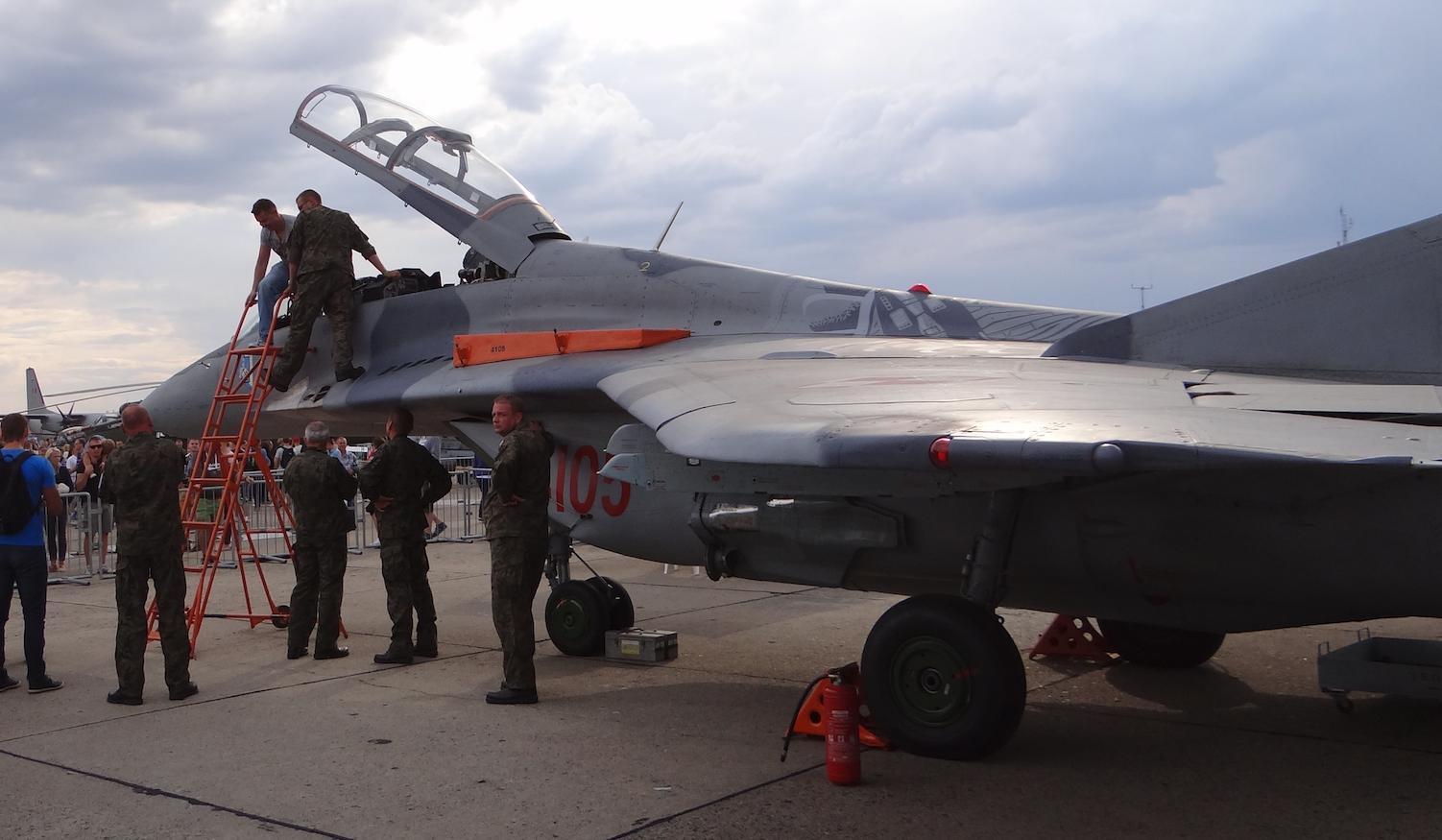 MiG-29. 2015. Photo by Karol Placha Hetman