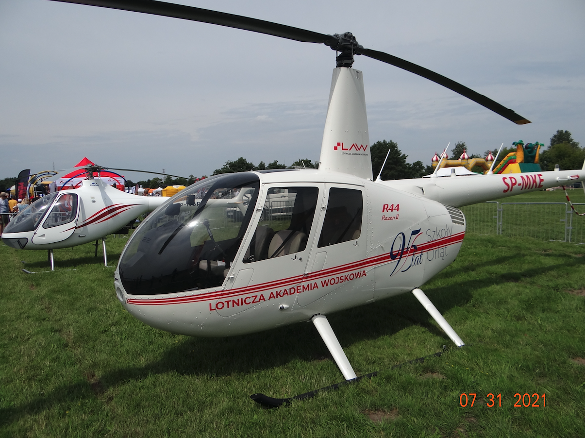 R44 SP-MKE. 2021 rok. Zdjęcie Karol Placha Hetman