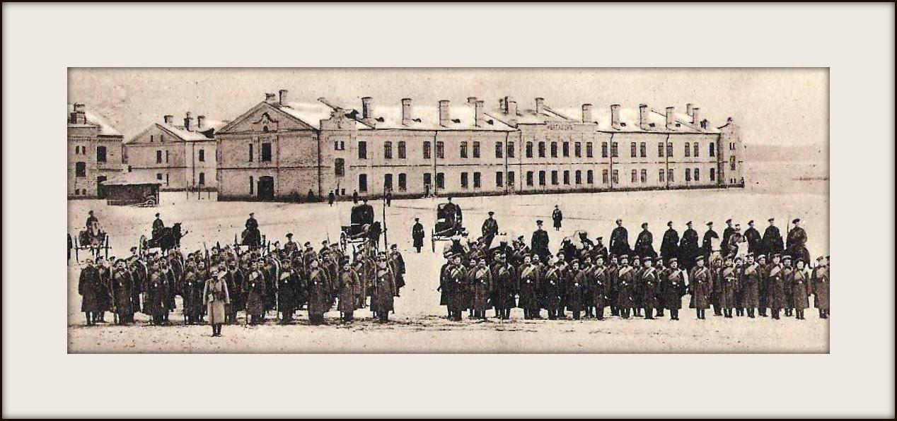 Lida koszary. 1916r. Zdjęcie LAC