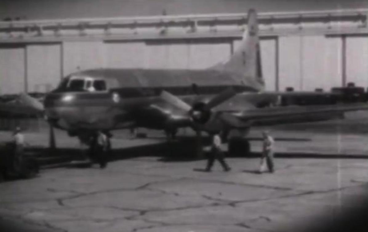 Convair CV-240 prototyp. 16.03.1947 rok. Zdjęcie Convair