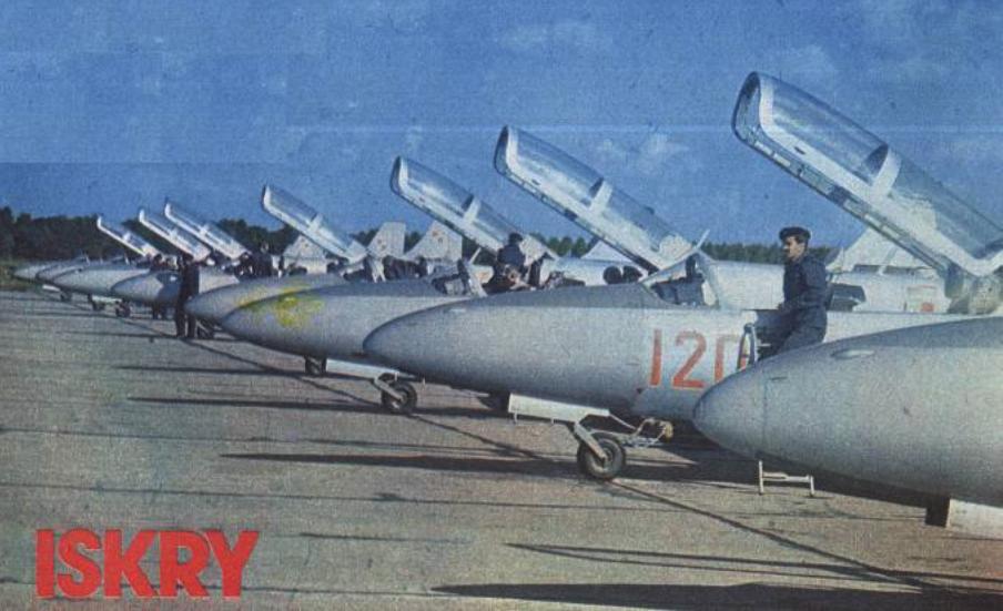 TS-11 Iskra. 1982 rok. Zdjęcie LAC