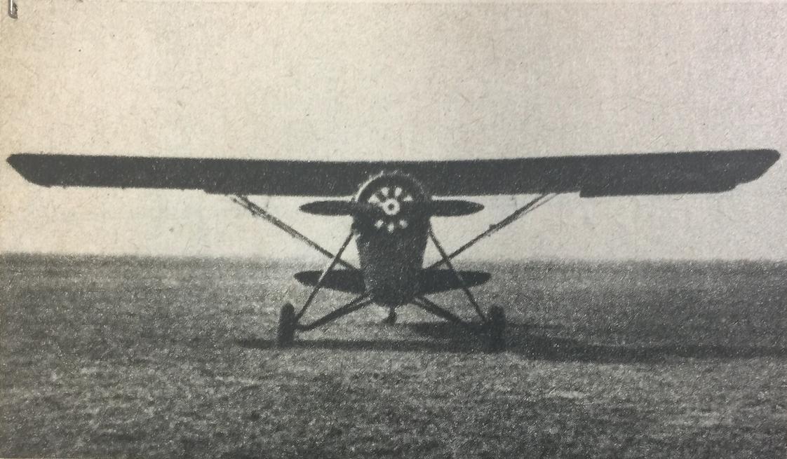 RWD-14, LWS Czapla. 1938 rok. Zdjęcie z instrukcji obsługi