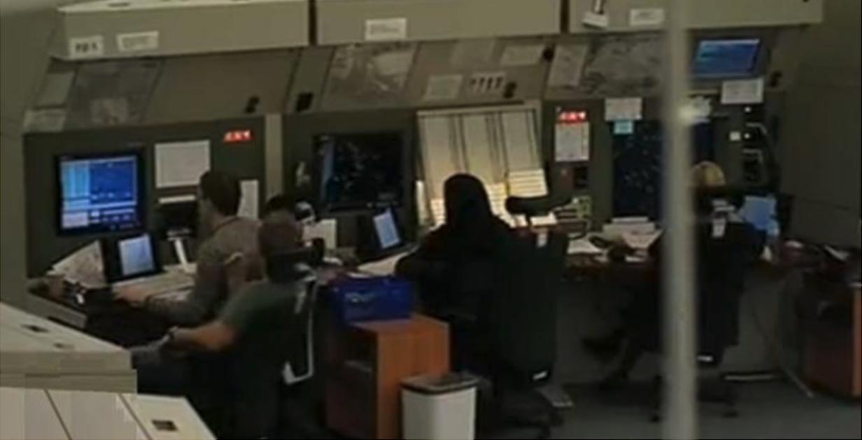 Fragment sali operacyjnej 2010 rok. Zdjęcie Agencja Żeglugi Powietrznej