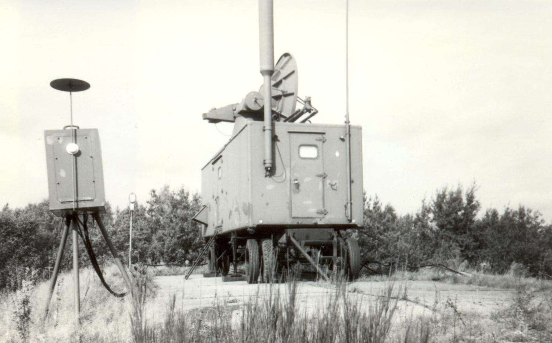 Stacja MRŁ-1G w Świdwinie. Zdjęcie Marek Kaiper