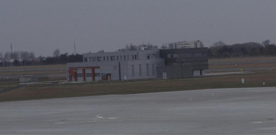 Lotniskowa Straż Pożarna Lotnisko Ławica. 2014r. Zdjęcie Karol Placha Hetman
