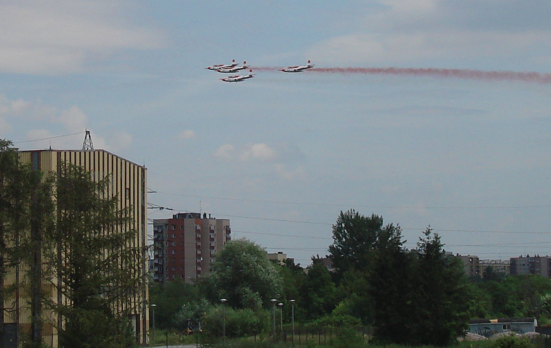 """""""Biało-Czerwone Iskry"""". Kraków 2007 year. Photo by Karol Placha Hetman"""
