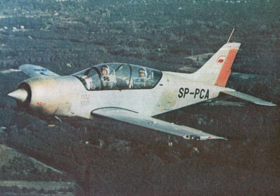 PZL-130 Orlik No. 002 SP-PCA flight registration. 1984. Photo of LAC