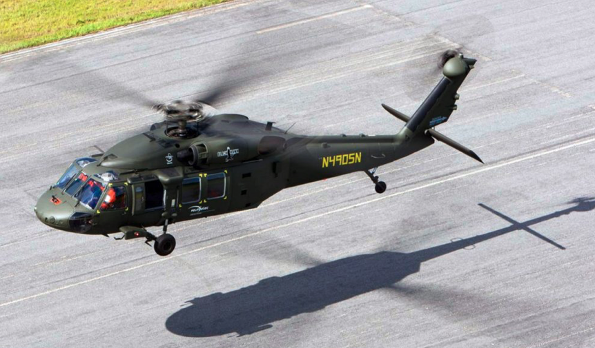 Black Hawk S-70i. Photo by Lockheed Martin