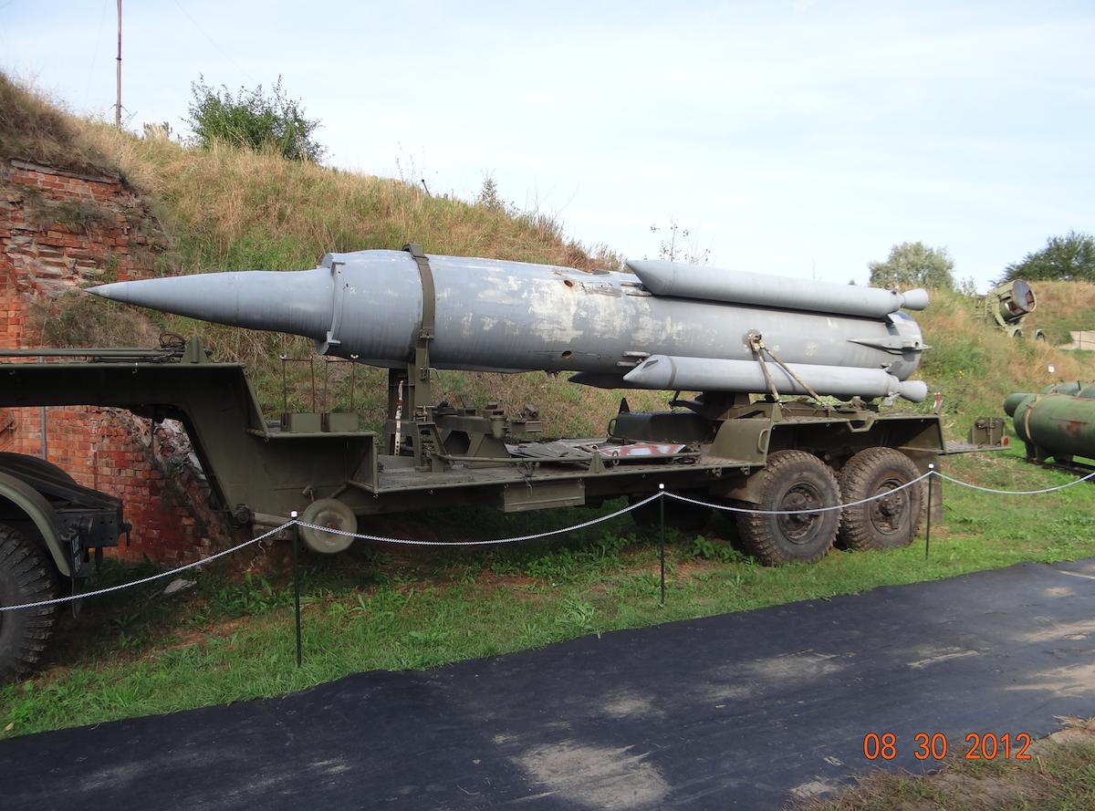 3M8 missile, 2K11 Krug system. 2012 year. Photo by Karol Placha Hetman