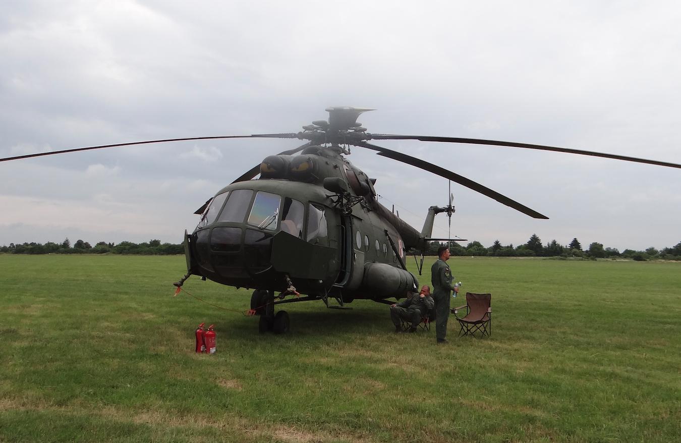 Mil Mi-17 nb 107. 2021 rok. Zdjęcie Karol Placha Hetman