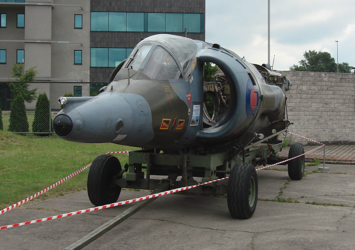 Harrier GR Mk.3 nb XW919. 2010 rok. Zdjęcie Karol Placha Hetman
