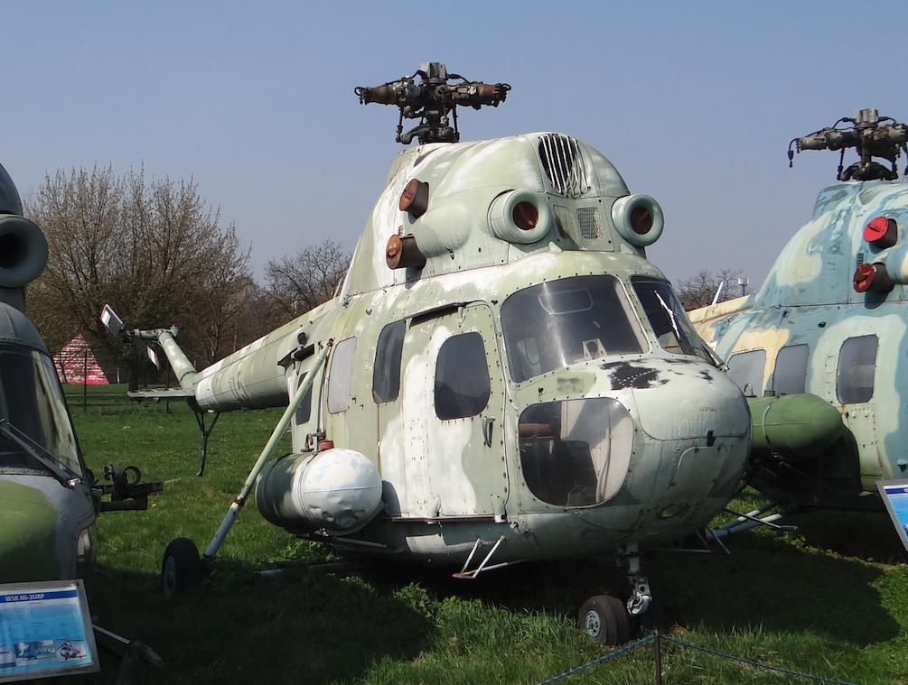 PZL Mi-2 M2. 2019 rok. Zdjęcie Karol Placha Hetman