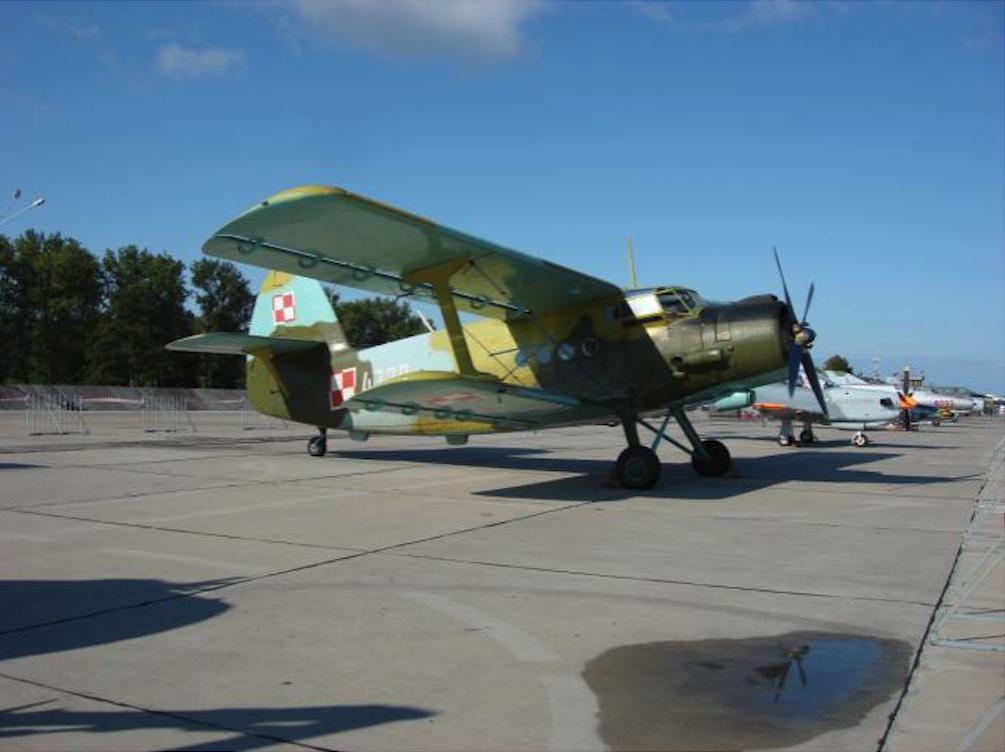 Wojskowy An-2 Mińsk Mazowiecki 2008 rok. Zdjęcie Karol Placha Hetman