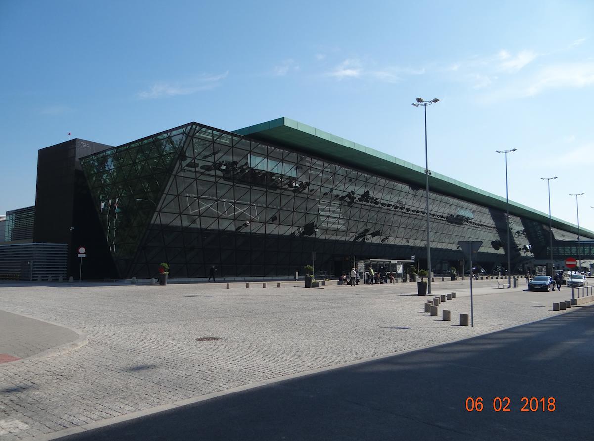 Krakow airport. 2018 year. Photo by Karol Placha Hetman