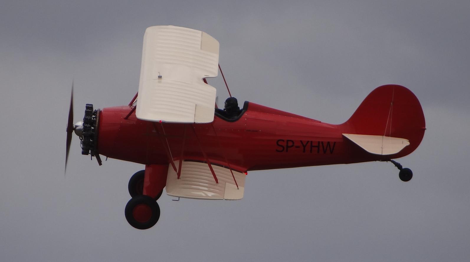 Samolot amatorski Hatz CB-1 SP-YHW z 60-lat do własnego montażu. 2018 rok.Zdjęcie Karol Placha Hetman