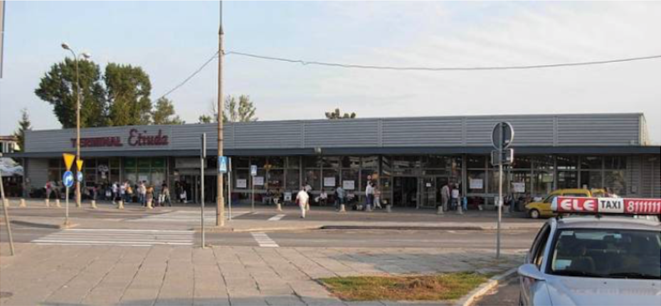 Terminal Etiuda. 2007 rok. Zdjęcie LAC