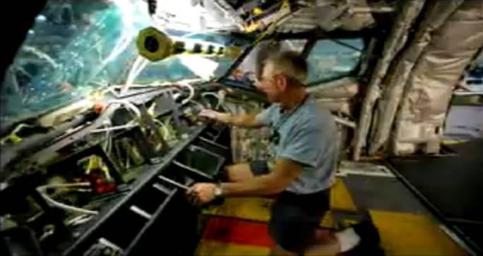 Praca w kabinie załogi. Renton 2011r.