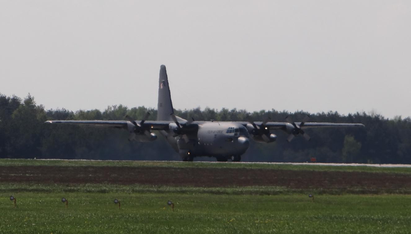 C-130 nb 1505. Powidz 2017. Photo by Karol Placha Hetman