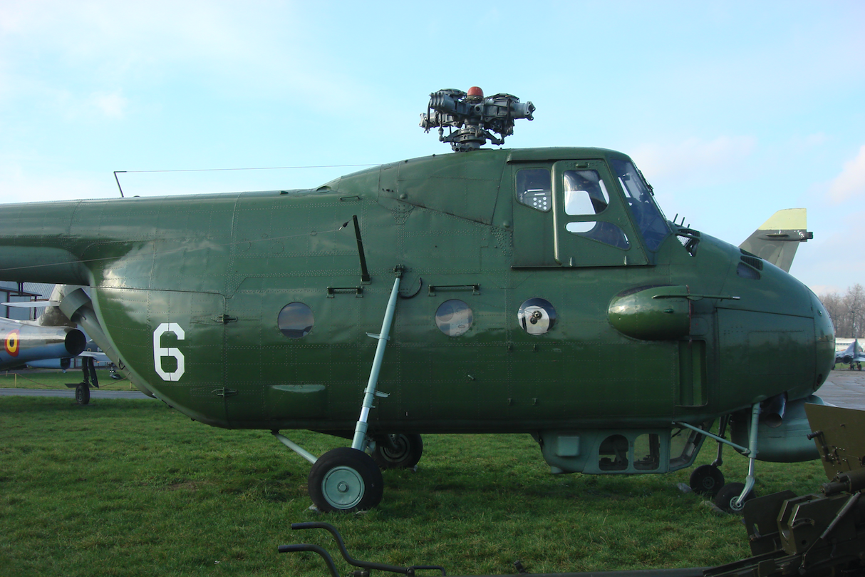 Mil Mi-4 ME nb 6. 2009 rok. Zdjęcie Karol Placha Hetman