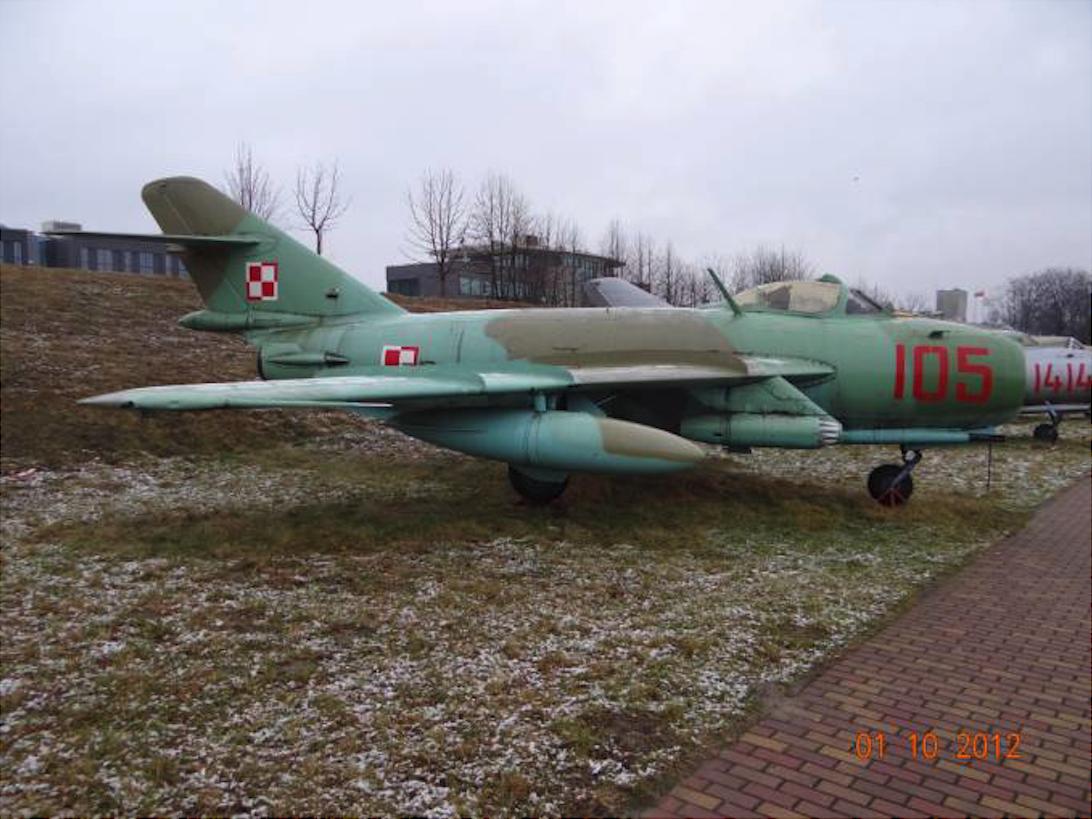 Lim-6 bis nb 105 Muzeum Lotnictwa Polskiego. 2012 rok. Zdjęcie Karol Placha Hetman
