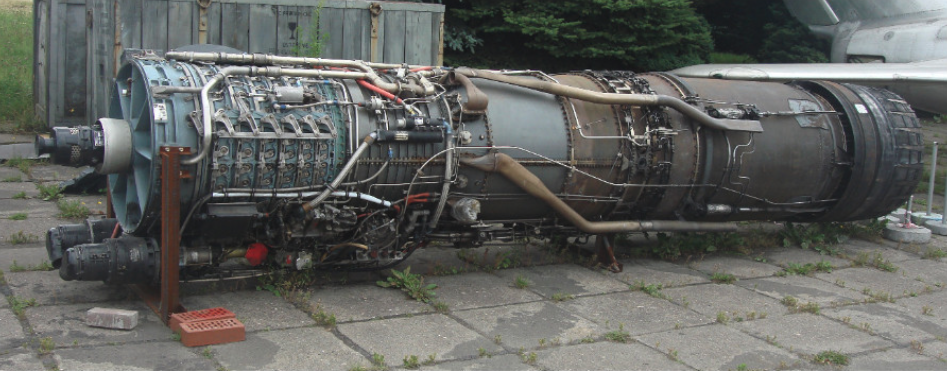 J79-GE-11A. 2011 rok. Zdjęcie Karol Placha Hetman