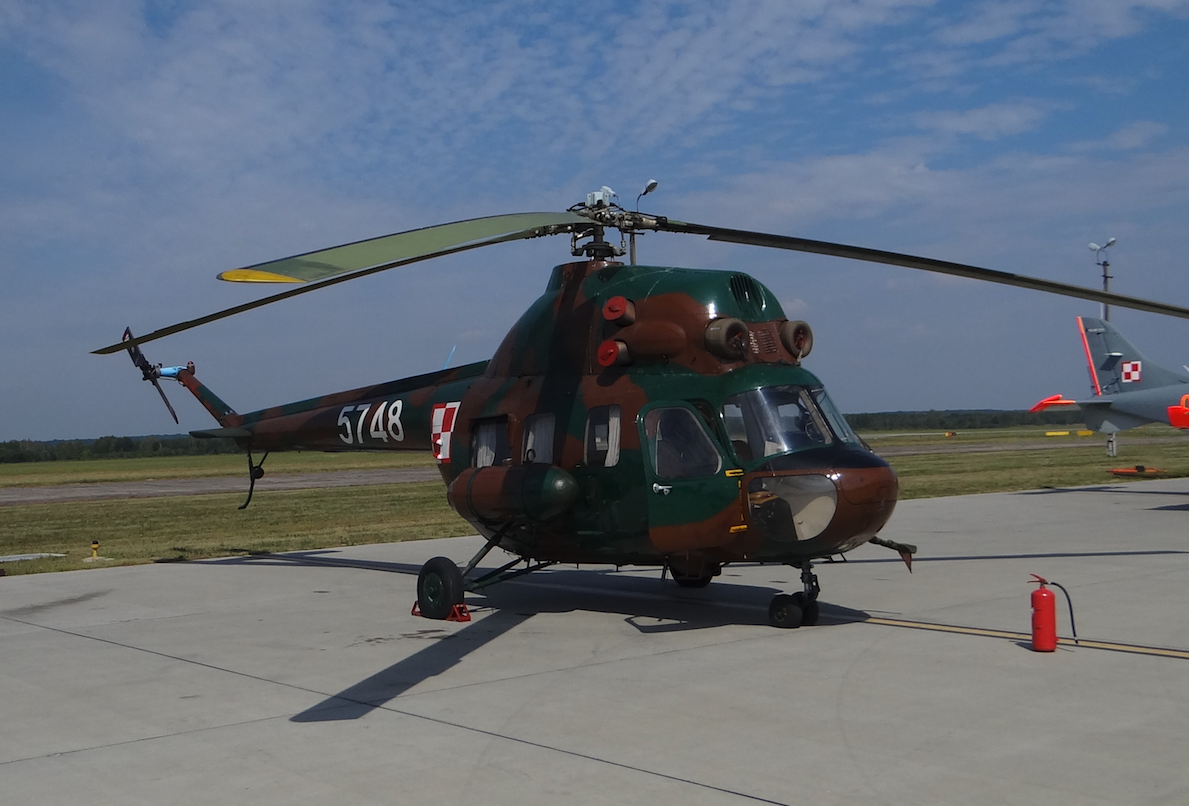 PZL Mi-2 nb 5748 w Wojsku Polskim. 2017 rok. Zdjęcie Karol Placha Hetman