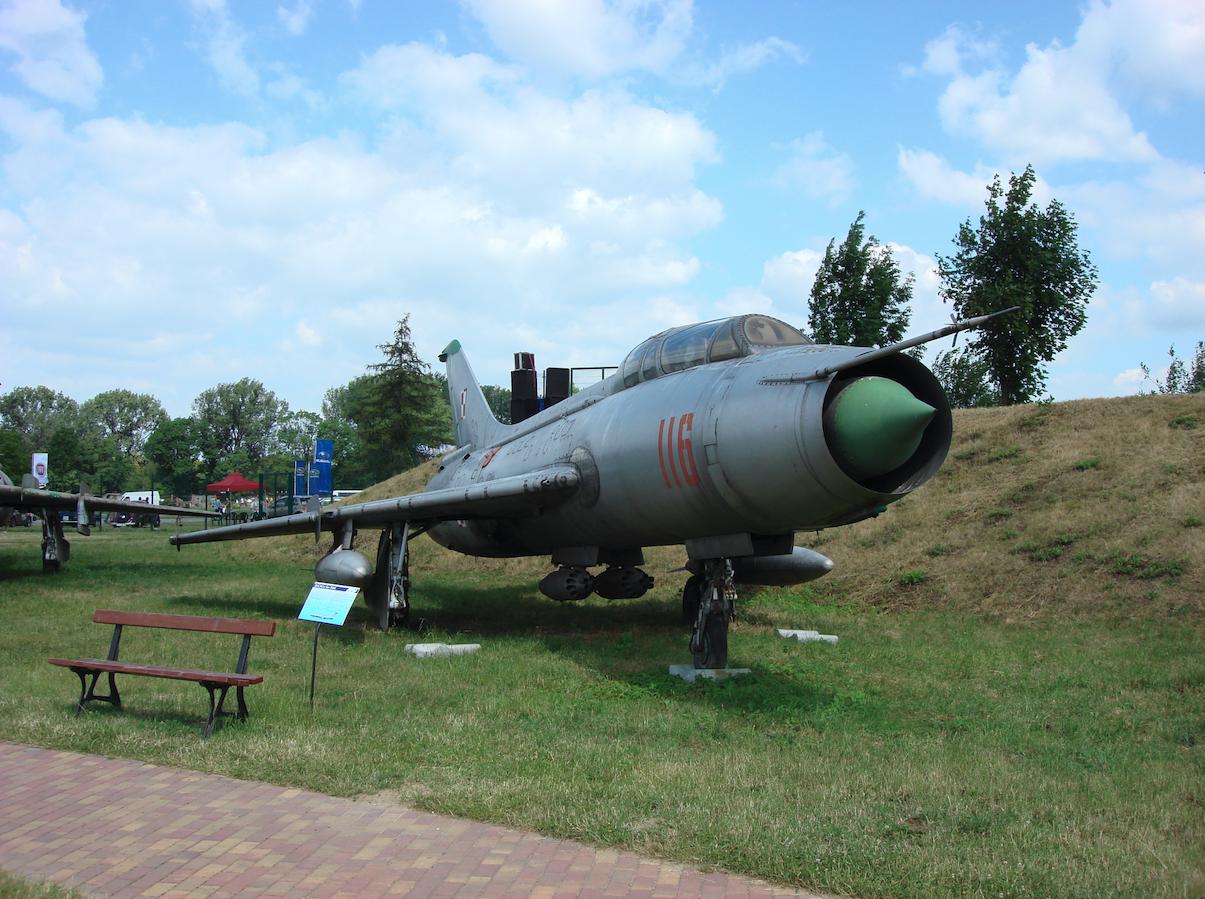 Su-7 U nb 116 nr 2116. 2008 rok. Zdjęcie Karol Placha Hetman