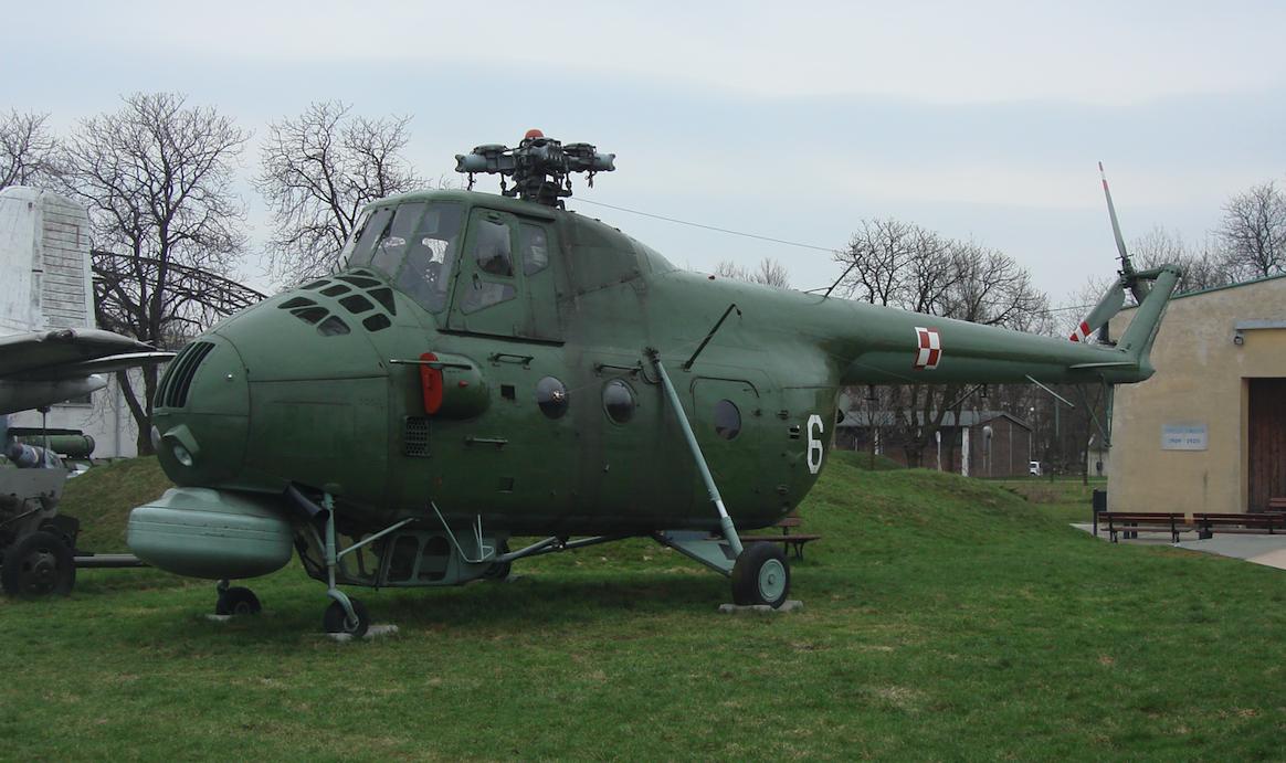 Mil Mi-4 ME nb 6. 2008 rok. Zdjęcie Karol Placha Hetman