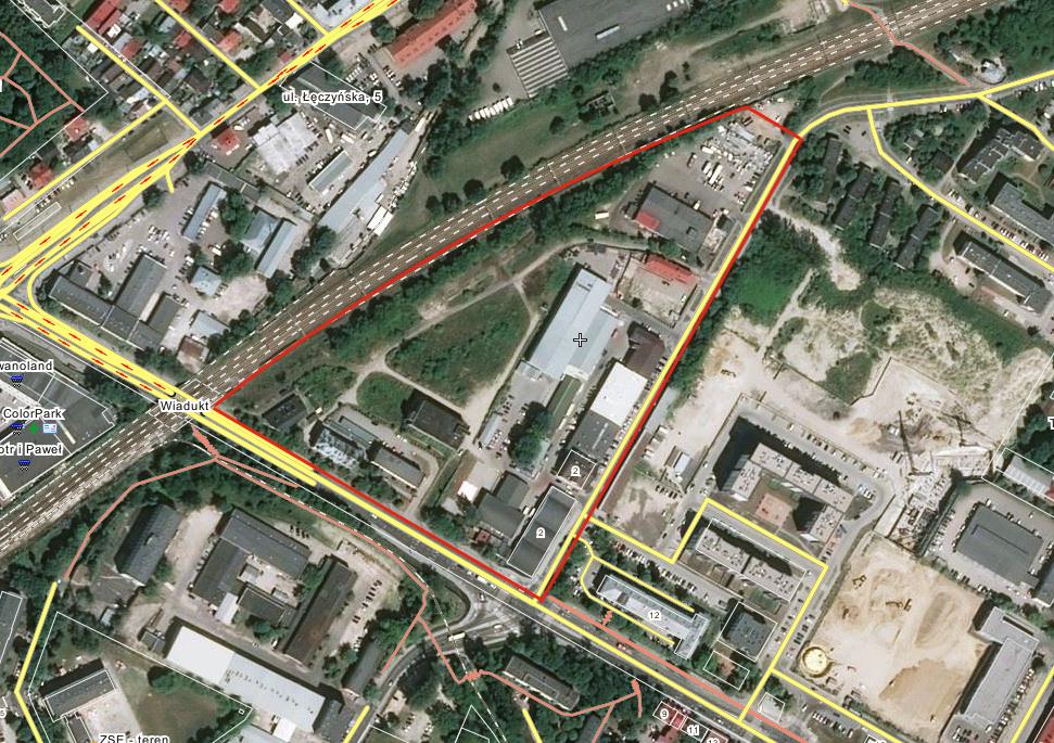 Miejsce byłych Zakładów. 2015 rok.