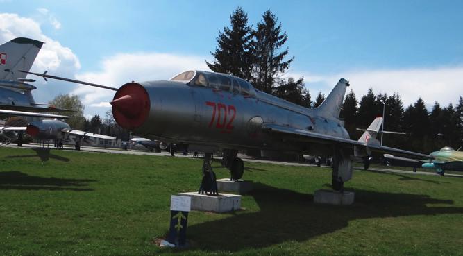 Su-7 U nb 702. Dęblin 2017. Photo by Karol Placha Hetman