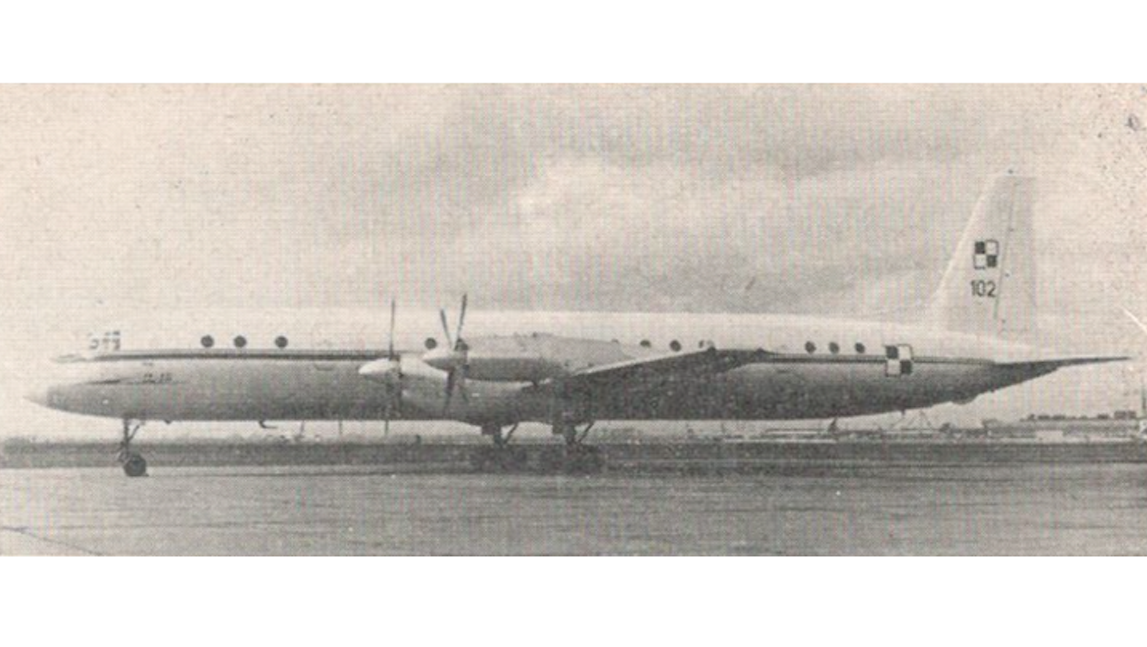 Il-18 E nb 101 used in the 36th SPLT. Photo of 36. SPLT
