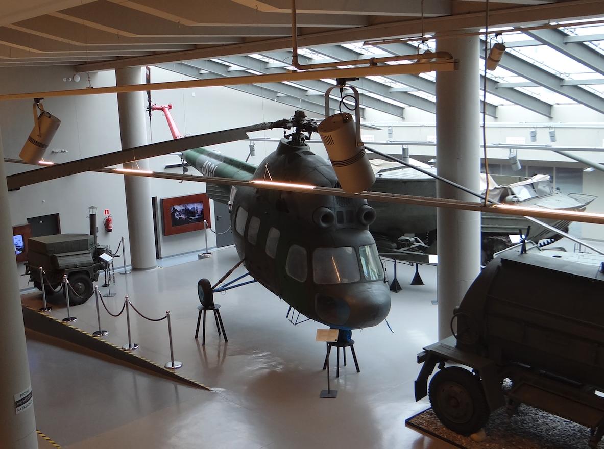 PZL Mi-2 nb 4601. Zamość 2019 rok. Zdjęcie Karol Placha Hetman