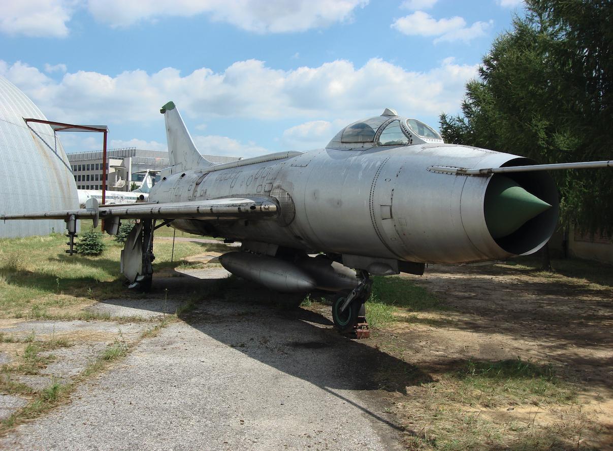 Su-7 BKL nr 7807. 2008 rok. Zdjęcie Karol Placha Hetman